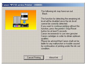 Mengatasi Error E16 pada Printer Canon MP287