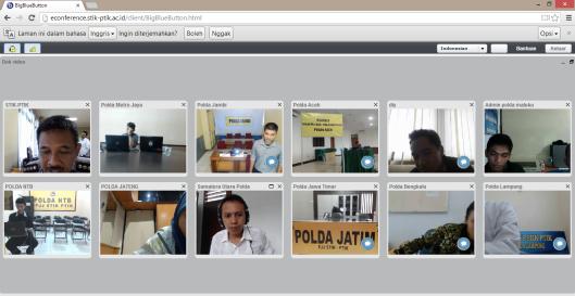 Cek Video Conference dengan Pak Edi